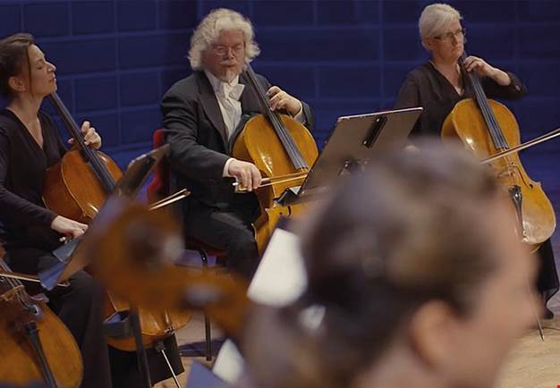 Orchestra musicians. Photo: