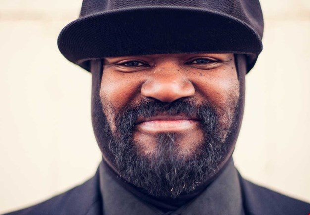 Close up picture of Gregory Porter