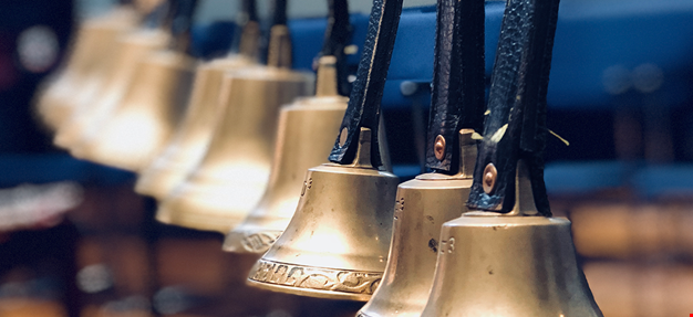 details of bells. Photo