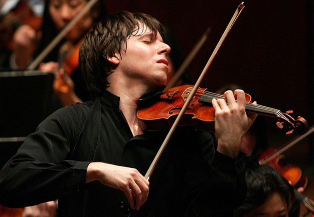 Close up photo of Joshua Bell