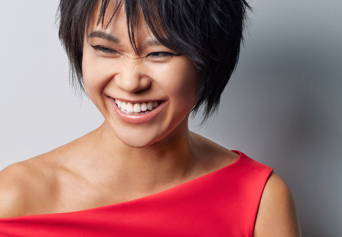 Photo of the pianist Yuja Wang