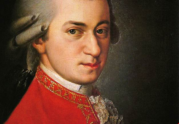 Illustration on Mozart.